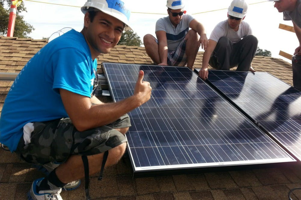 Solar Spring Break' gives engineering graduate students a charitable