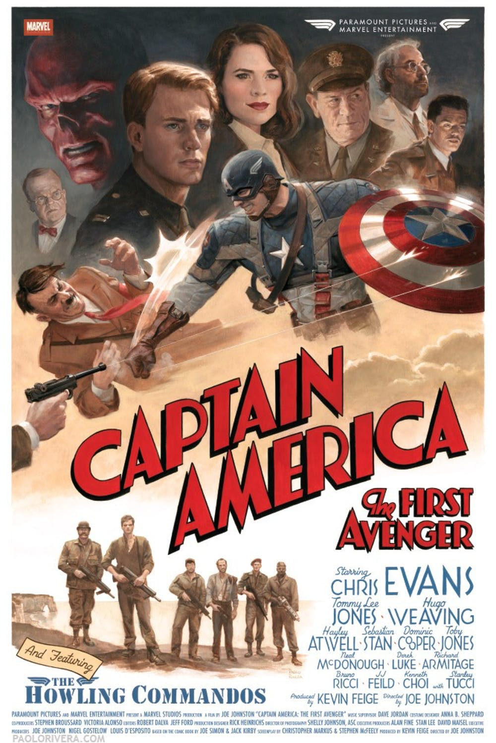 Q A With Chris Evans Star Of Captain America The First Avenger The State Press