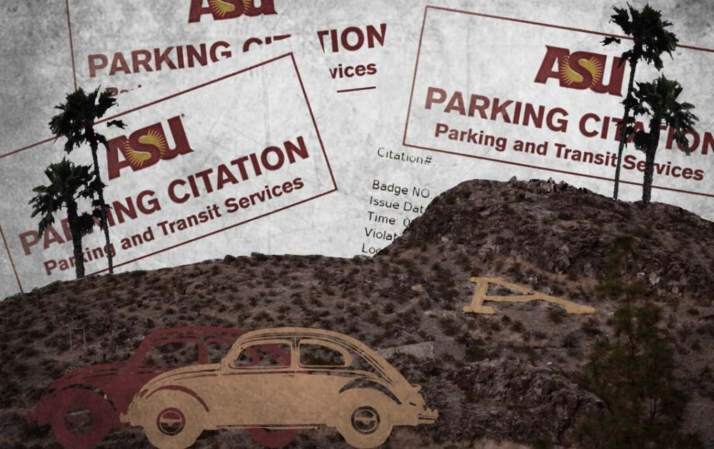 Map Where ASU gives the most parking tickets The State Press