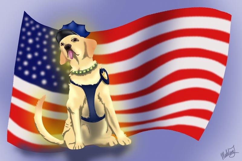 disney police dog