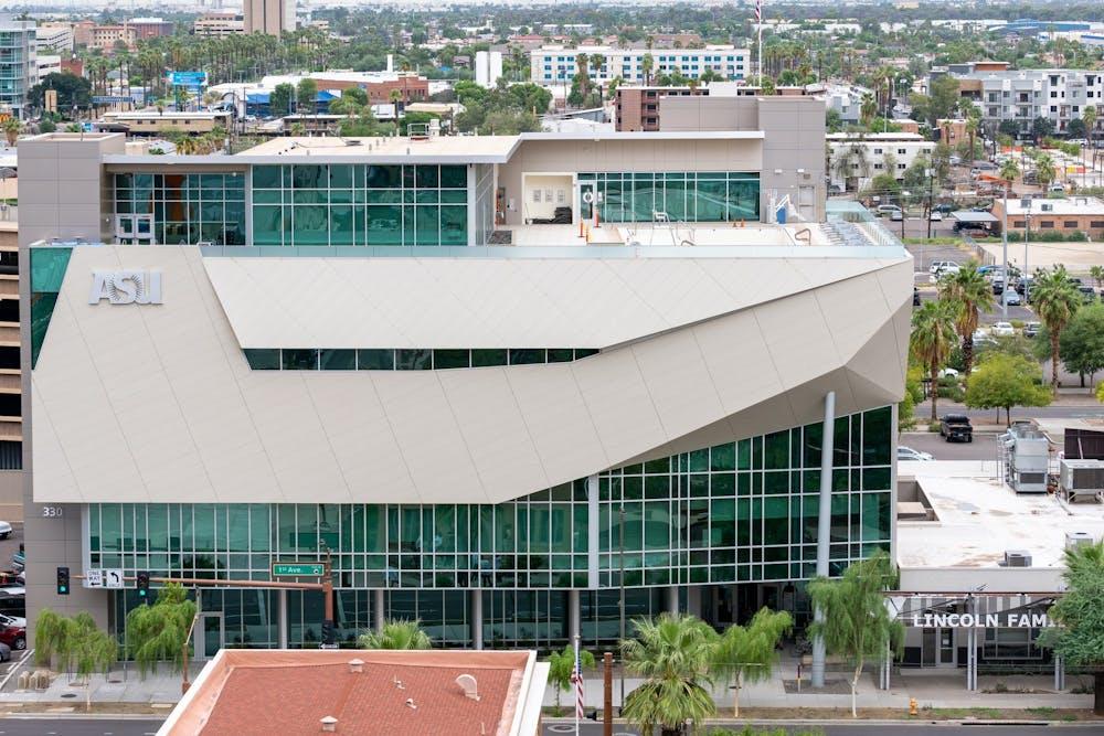 Se muestra el SDFC del centro de Phoenix.