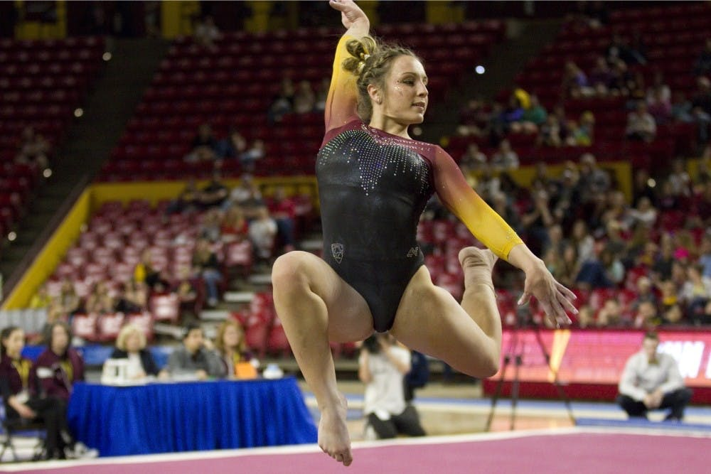 Asu Gymnastics Earns Highest Score Since 2006 In A Victory