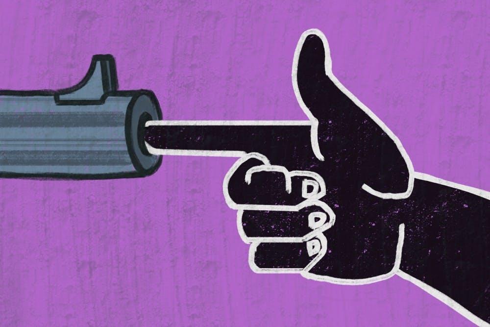 fingergun