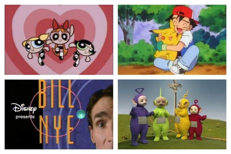 Netflix nostalgia collage