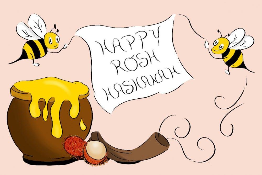 Rosh Hashanah Graphic