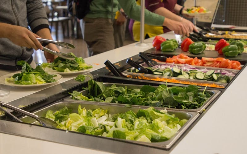 Tooker Hall Salad Bar