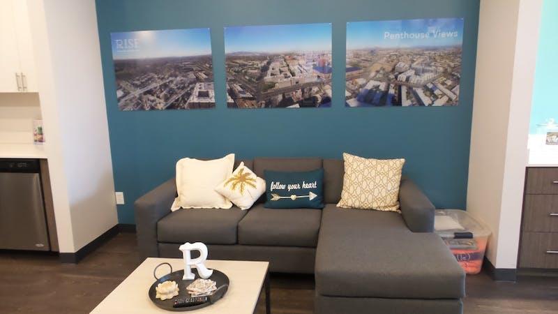 Rise on Apache Sample Living Area