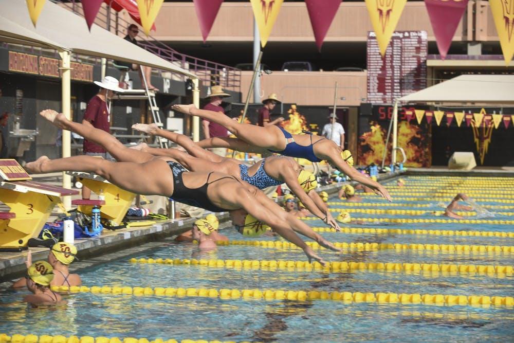 ASU Swim and Dive Practice-28
