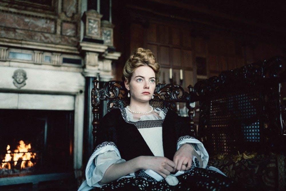Emma Stone in The Favorite