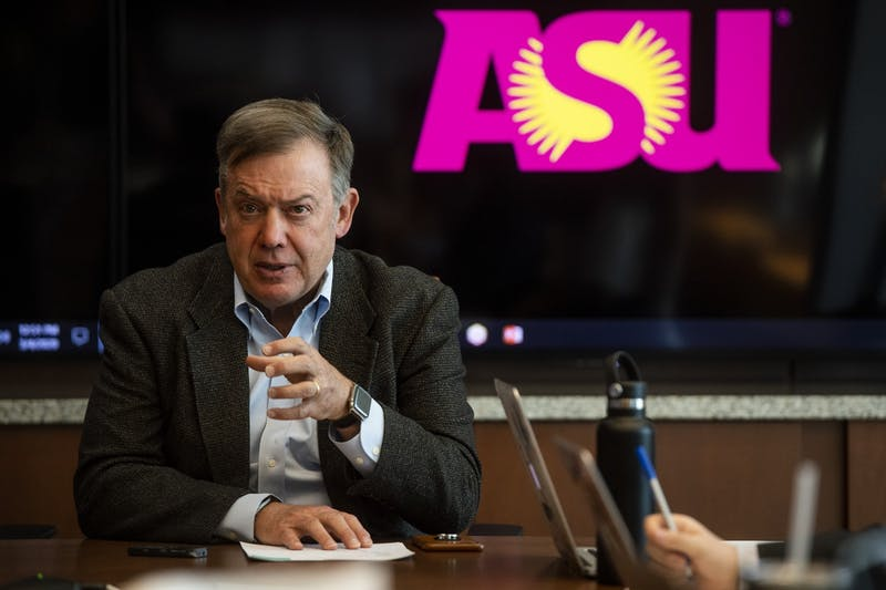 Arizona State University President Michael Crow.