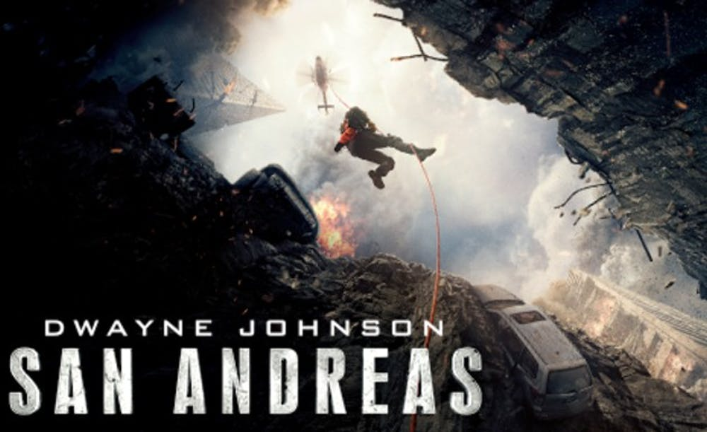 Dwayne Johnson saves 'San Andreas' from turning to rubble - The ...