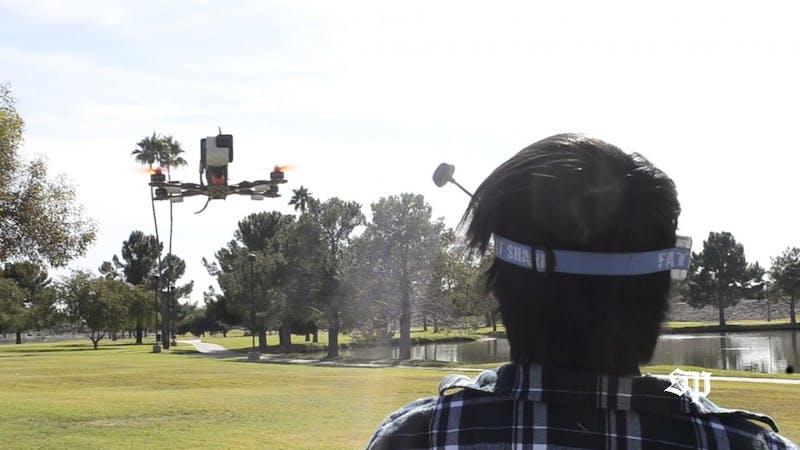 Video: ASU Fresh builds and flies racing drones