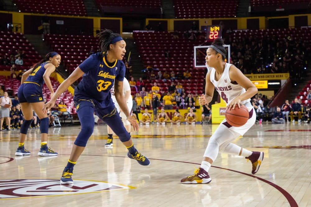 Asu Women S Basketball Holds On To Beat California The State Press