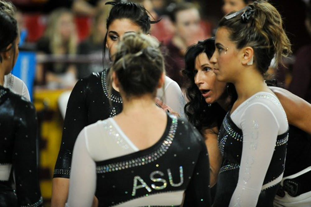 7d483f58a92b2 ASU gymnastics head coach René Lyst on indefinite administrative leave