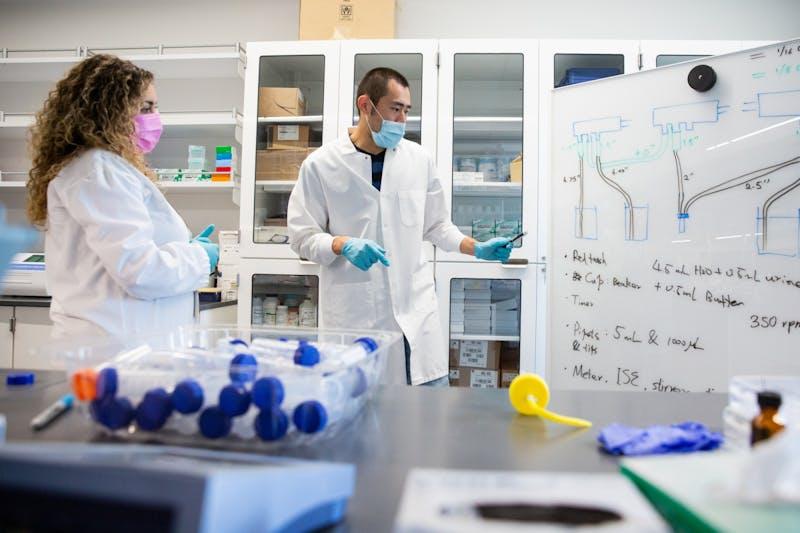 20210304 Health Futures Center Shoot -  Forzani Lab