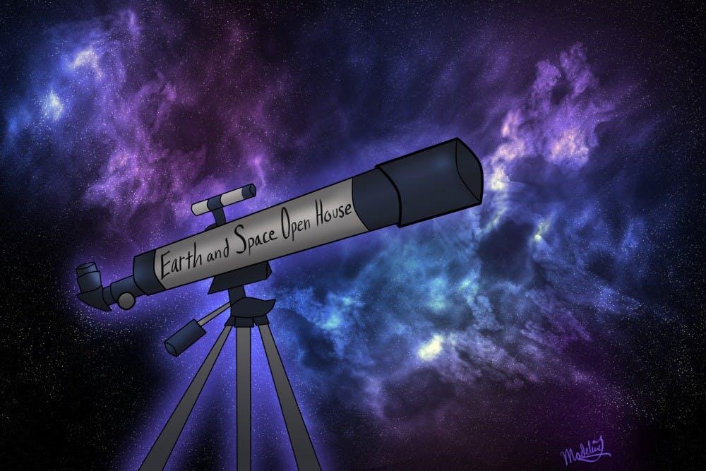 open house done big telescope