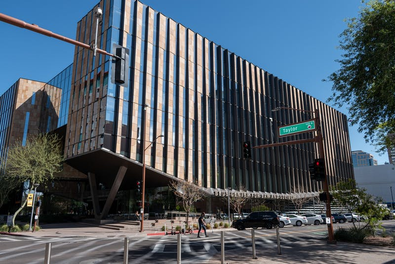 The Sandra Day O'Connor College of Law is shown on the downtown Phoenix campus.
