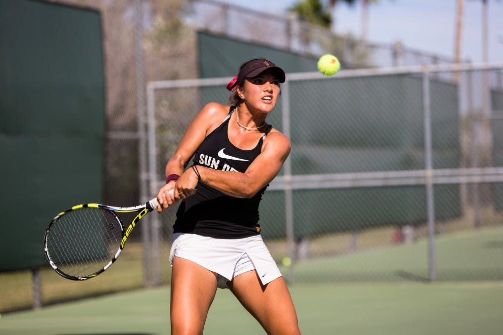No 23 ASU Tennis Loses Close Bout Against No 4 UCLA