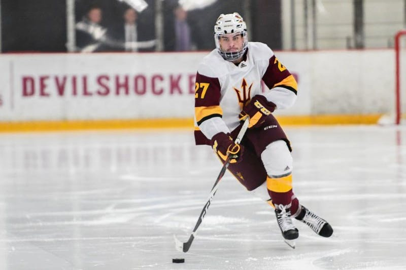 ASU hockey preparing for potential run to the NCAA Tournament