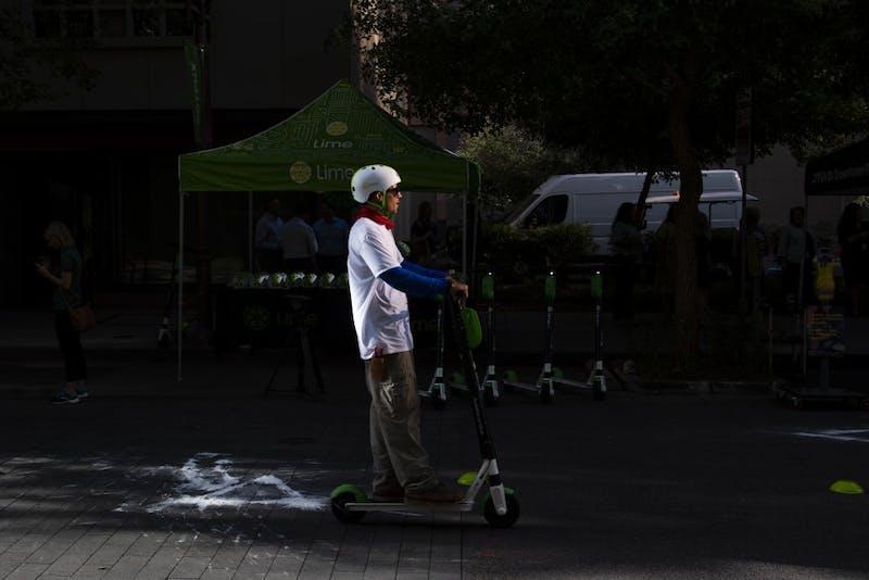 20190916 Downtown Phoenix electric scooter pilot program 0022