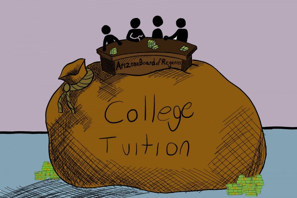 Opinion The True Cost Of The Fee Increase Is Asu S Ideals The