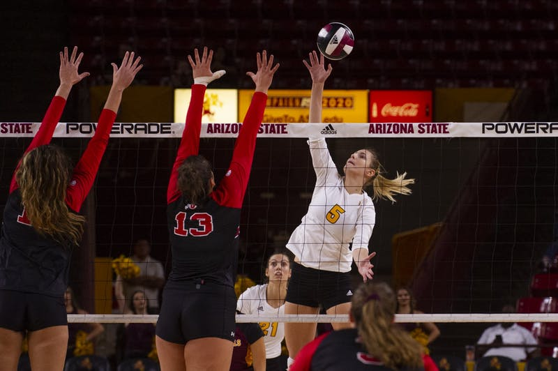 Video: Bosnian-born Iman Isanovic finds her feet in Sun Devil Volleyball