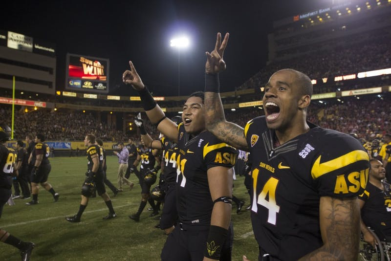Slideshow: ASU Football Protects the House for Week 2