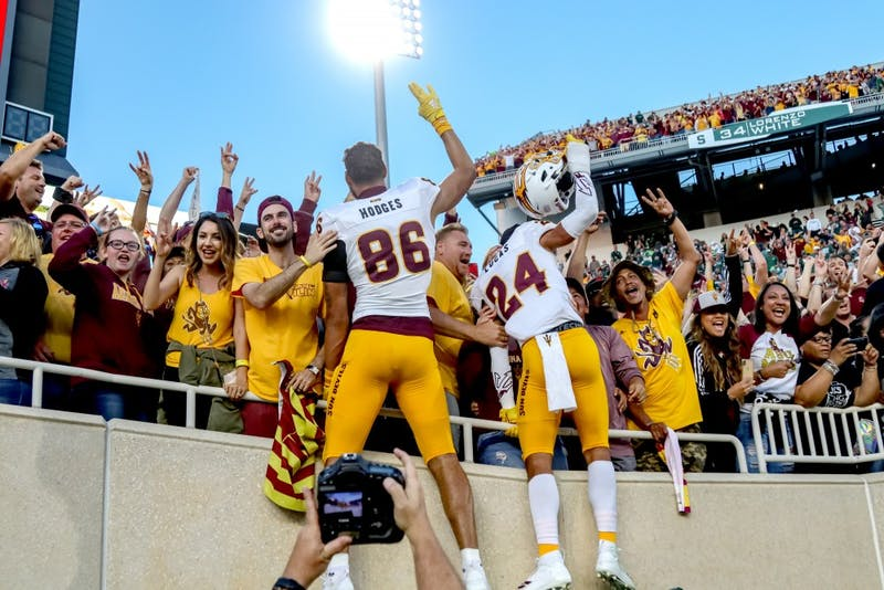 ASU Football uses late fourth quarter magic to steal 10-7 victory in defensive slugfest
