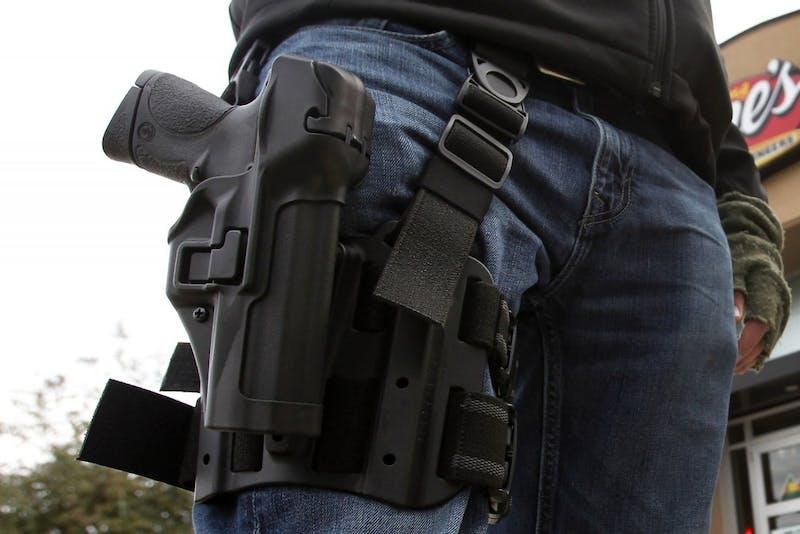 US NEWS TEXAS-GUNS-OPENCARRY 1 FT