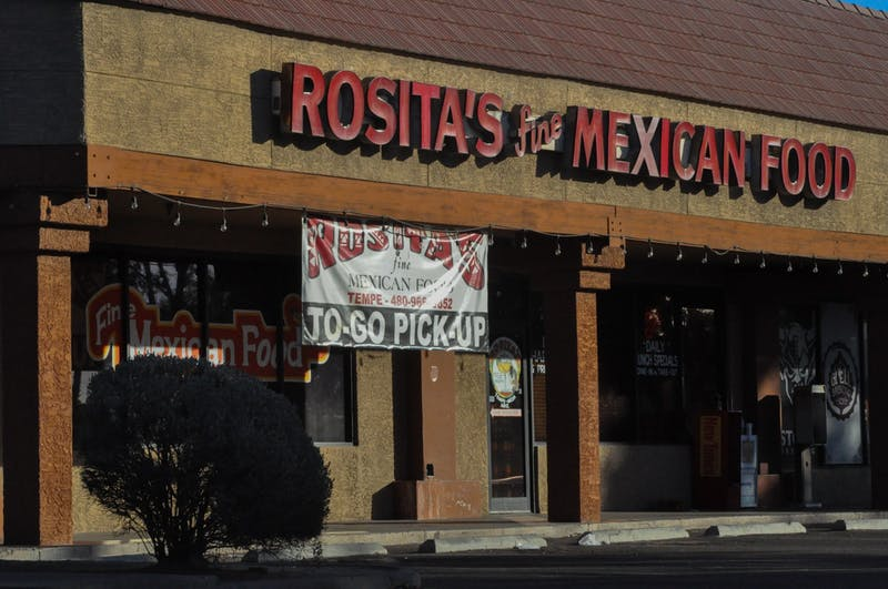 Rosita's Fine Mexican Food off of University Drive is pictured on Sunday, Jan. 17, 2021, in Tempe. Rosita's is one of the local businesses that teamed up with the Tempe city government to help combat the COVID-19 pandemic.