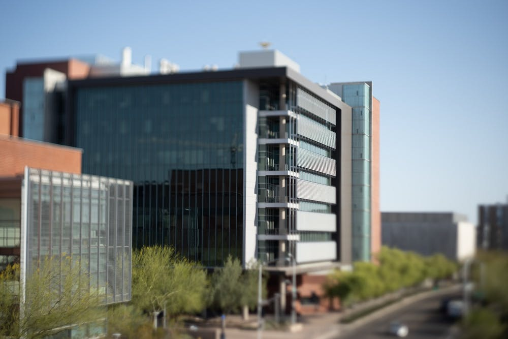 ASU's Interdisciplinary Science and Technology Building 4 is shown