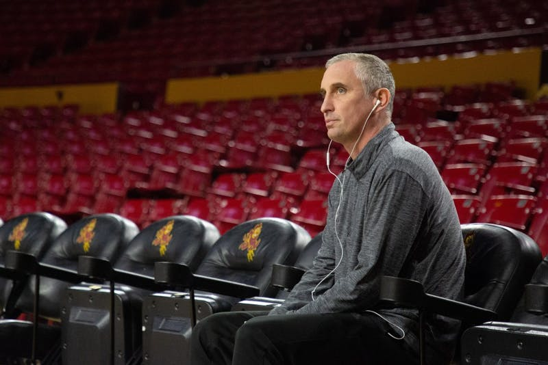 Bobby Hurley watches opponents