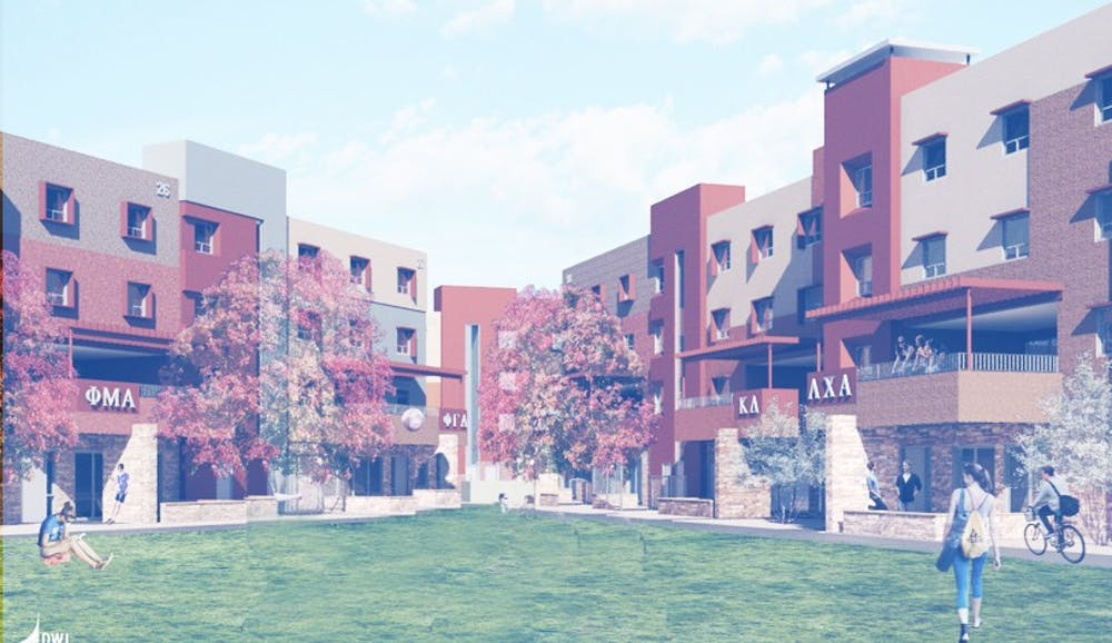 From the ground up, the rebuilding of Greek housing at ASU