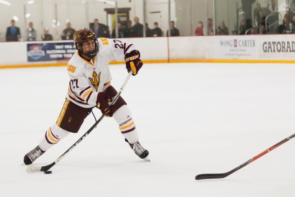 Asu Men S Hockey Wins First Tournament In Program History At Ice