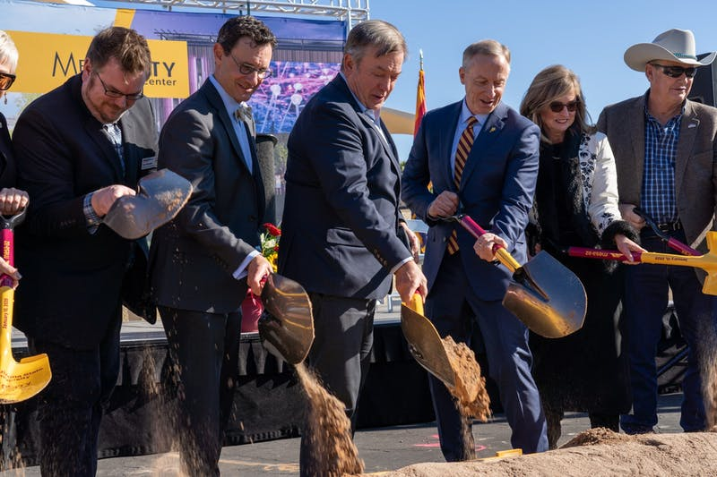 ASU at Mesa City Center groundbreaking