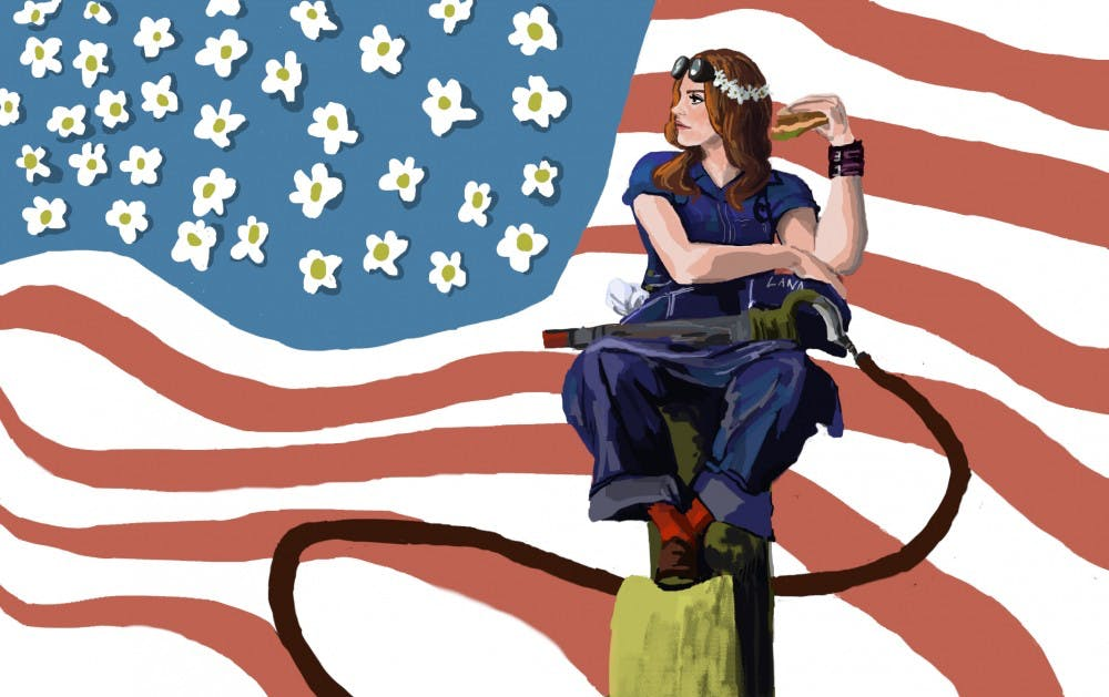 I D Never Listened To Lana Del Rey So I Reviewed Norman F Ing Rockwell The State Press