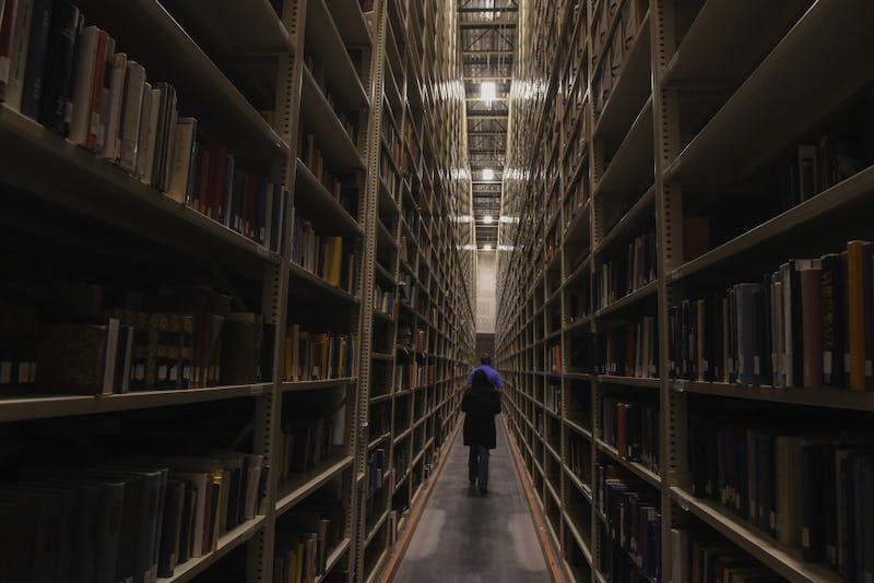 Asu Library S High Density Collection Where Books Go To Outlive You The State Press