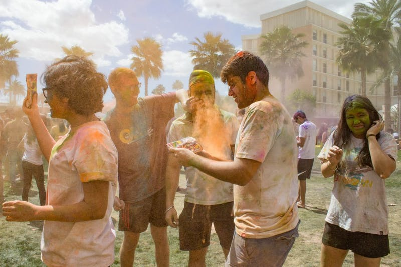 "Kapoor and his friends throw colors in the air and at one another during Holi, also known as the ""Festival of Colors"". As friends throw color at each other's faces, they say ""Bura na mano Holi Hai!"" which means ""Don't feel bad, it's Holi!"" The motto behind the festival is ""good wins over evil,"" and they pray for all internal evil to be destroyed and to be good to all."