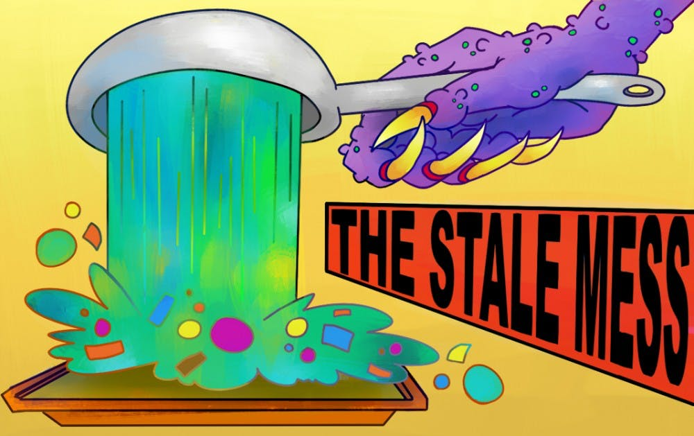 the stale mess