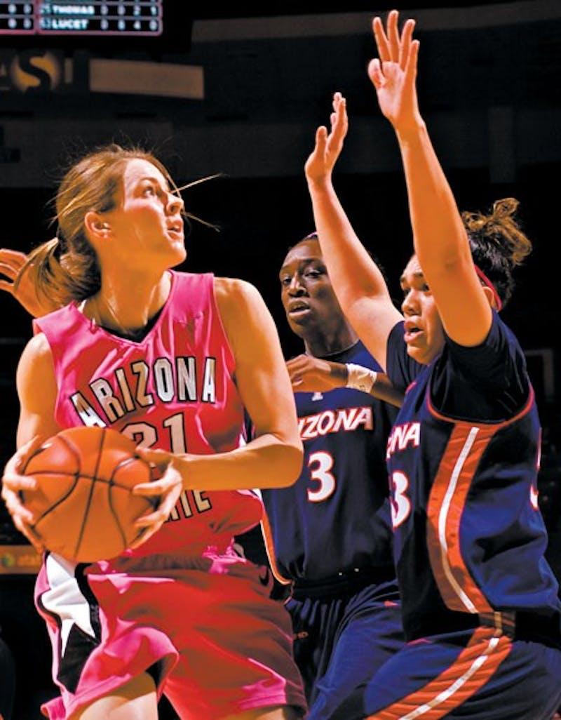 2009 University of Arizona @ ASU Women's Basketball