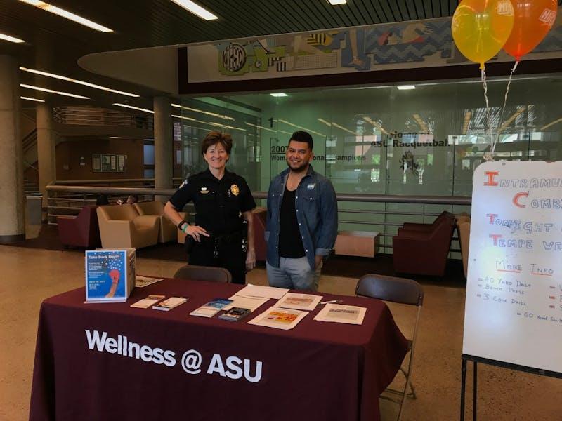ASUPD and ASU Wellness honor National Drug Take-Back Day