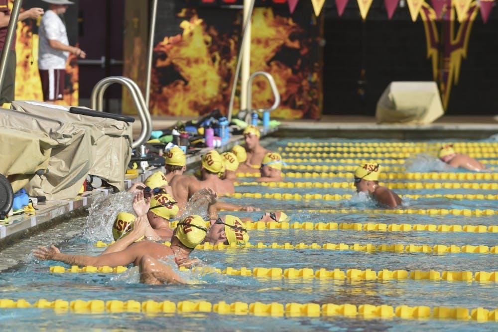 ASU Swim and Dive Practice-30