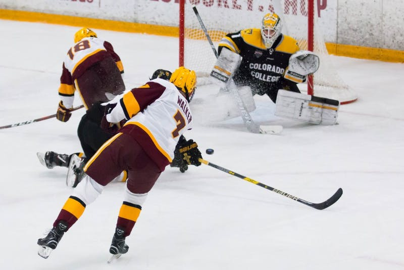 ASU men's hockey sweeps Colorado College