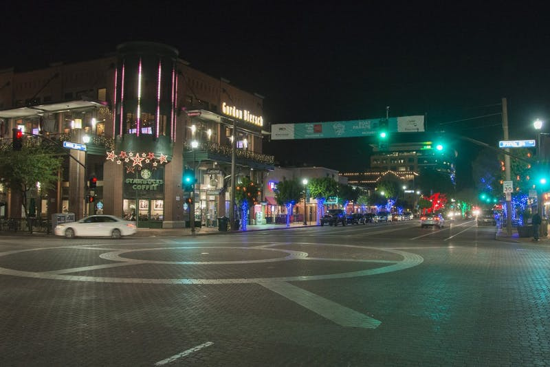 Mill Ave I Night