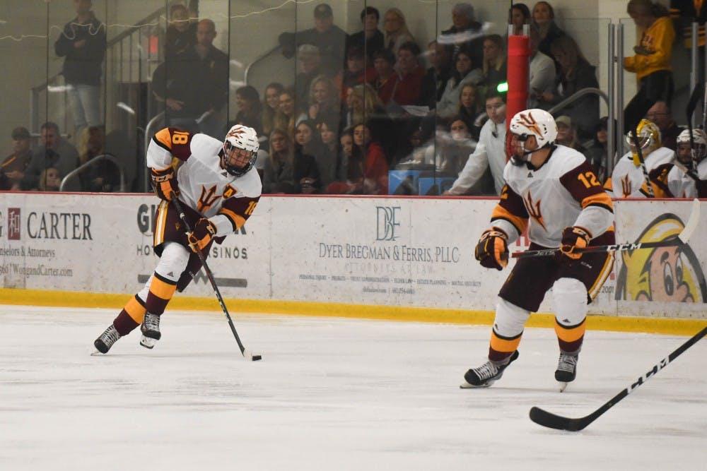 ASU Mens Hockey vs Alaska Fairbanks-31
