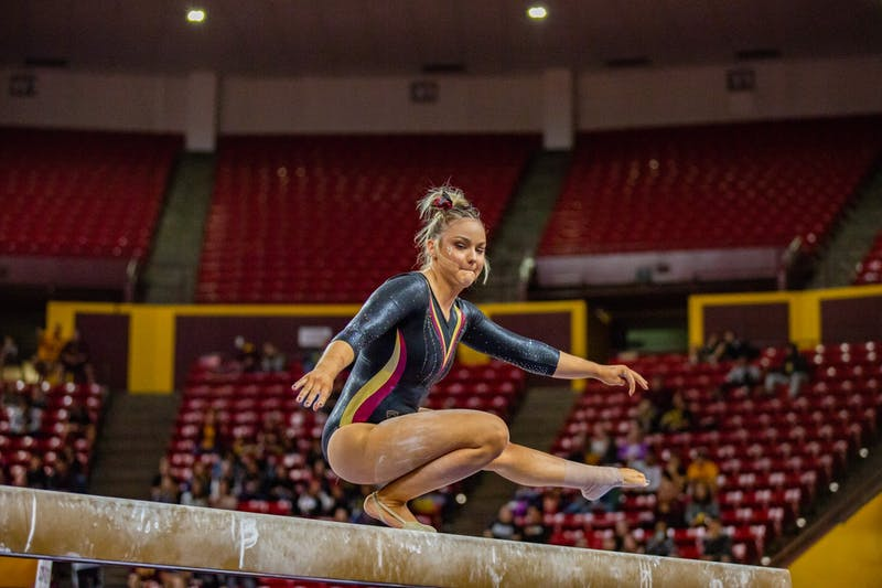 20200117 gymnastics vs UC Davis