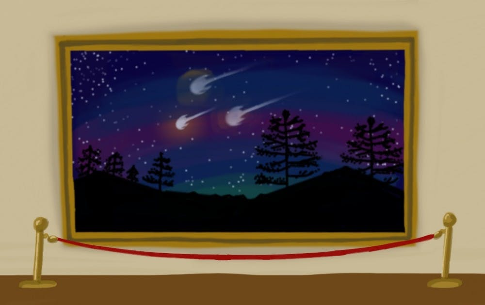 Art of Meteors for Troy Oct 1