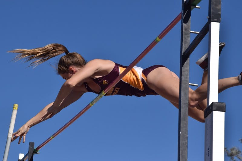 Kristiana Warth Pole Vaulting
