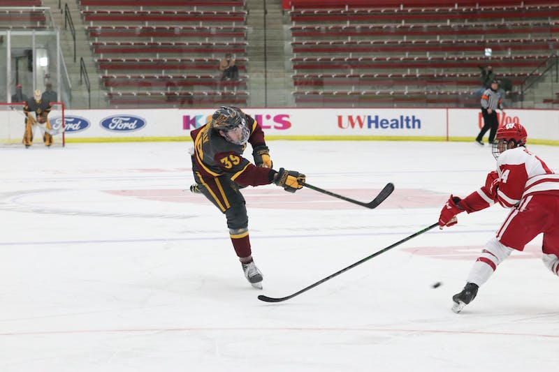 ASU Hockey v Wisconsin