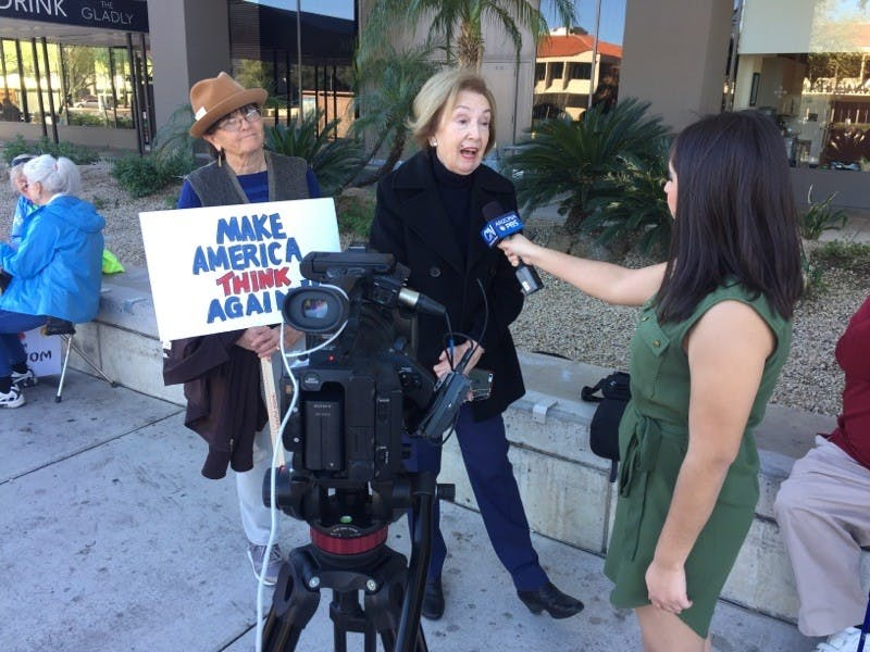 Protest Coverage by Cronkite Noticias
